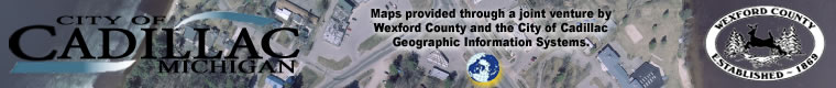Wexford County and Cadillac GIS Venture Banner